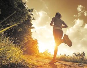 Sunset_jogging